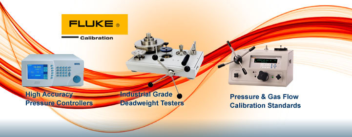 Fluke Calibration – High Accuracy Pressure Controllers, Industrial Grade Deadweight Testers, Pressur