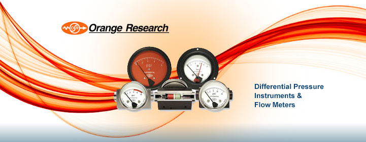 Orange Research – Differential Pressure Instruments & Flow Meters